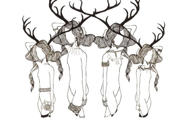 fashion-illustration-cristian-grossi-absolute-zero-2-donne-cervo